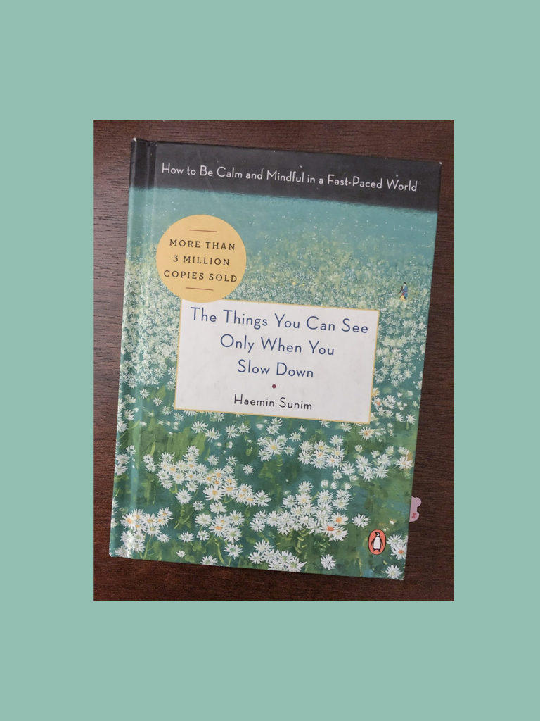 The Things You Can See Only When You Slow Down – Diana
